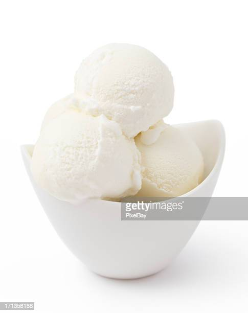 ice cream - panna - bowl stock pictures, royalty-free photos & images