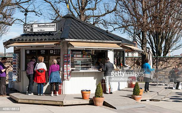 Ice Cream Stand in Stockholm - Sweden