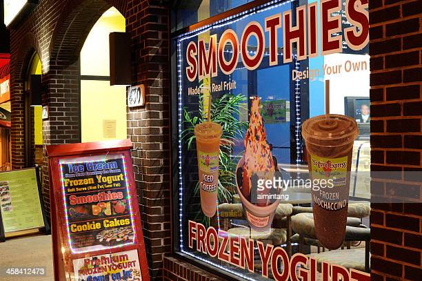 ice cream store at university park - state college pennsylvania stock photos and pictures
