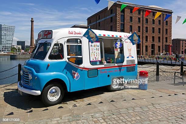 Ice Cream Van Albert Dock Liverpool