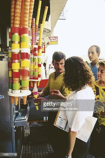 Ice cream vendor Jordan