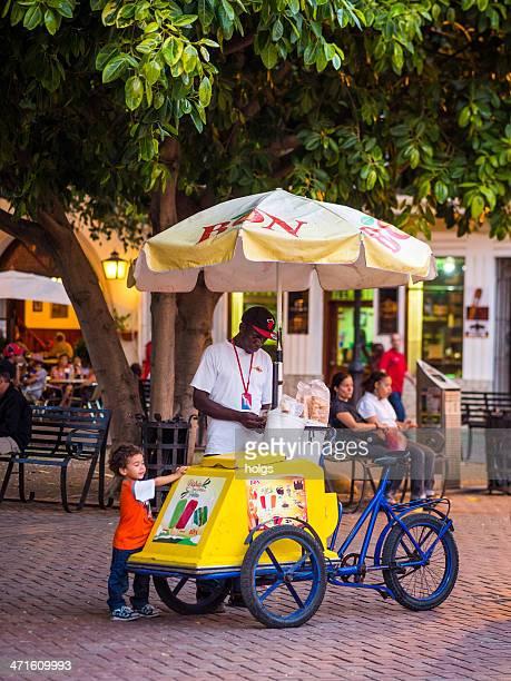 Ice Cream Vendor, Santo Domingo