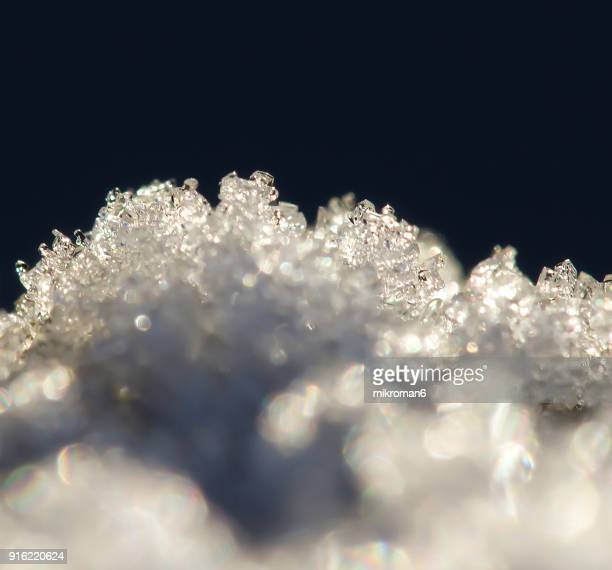 Ice Crystal Formation, pattern