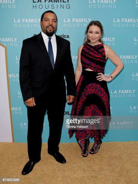 Ice Cube and Blair Rich attend the LA Family Housing 2017 Awards at The Lot on April 27, 2017 in West Hollywood, California.