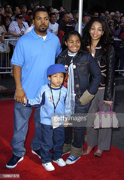 Ice Cube and family during The Incredibles Los Angeles Premiere Arrivals at El Capitan in Hollywood California United States
