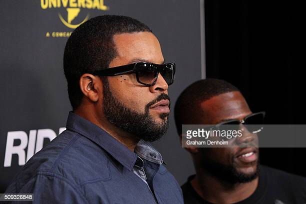 fb0fa3df719 Ice Cube and Kevin Hart arrive ahead of the Ride Along 2 Australian  Premiere at Hoyts