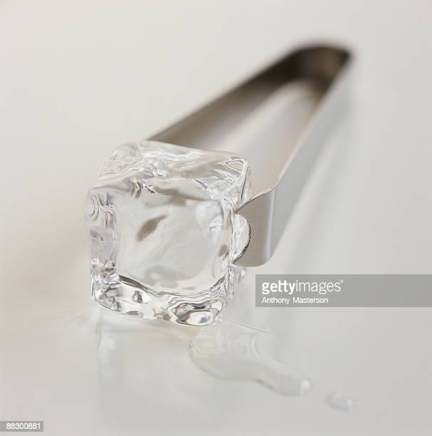 Ice Cube and Tongs