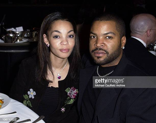 Ice Cube and wife during The 17th Annual American Cinematheque Award Honoring Denzel Washington Show and Backstage at Beverly Hilton Hotel in Beverly...