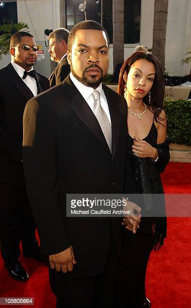 Ice Cube and wife Kim during The 61st Annual Golden Globe Awards Access Hollywood Platform Arrivals at The Beverly Hilton Hotel in Beverly Hills...