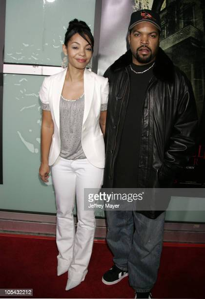 Ice Cube and wife Kim Jackson during The Amityville Horror World Premiere Arrivals at Arclight Cinerama Dome in Hollywood California United States