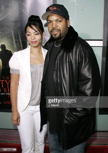 Ice Cube and wife Kimberly during The Amityville Horror World Premiere at Arclight Cinerama Dome in Hollywood California United States