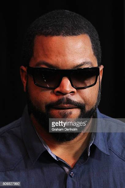 Ice Cube arrives ahead of the Ride Along 2 Australian Premiere at Hoyts Melbourne Central on February 10, 2016 in Melbourne, Australia.