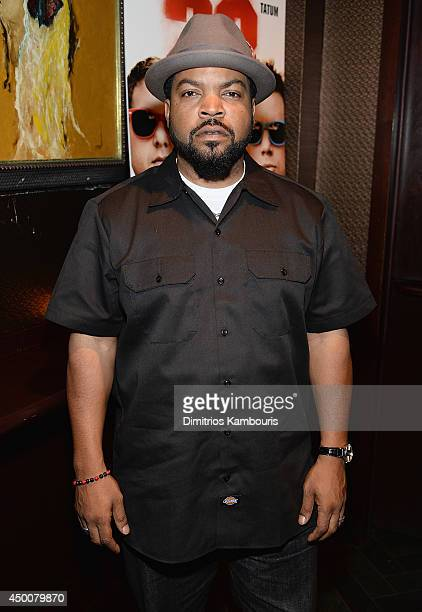 Ice Cube attends 22 Jump Street New York Screening after party at Lavo on June 4 2014 in New York City