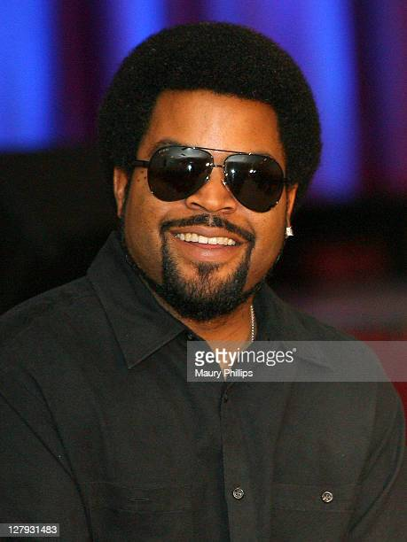 Ice Cube attends Best Buy Mobile And The GRAMMY Foundation Celebrating Best Buy Mobile's Growth In California With Ice Cube at Taft High School on...