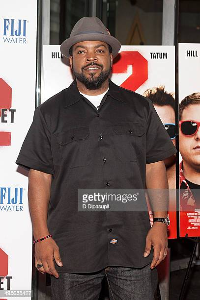 Ice Cube attends the 22 Jump Street premiere at AMC Lincoln Square Theater on June 4 2014 in New York City