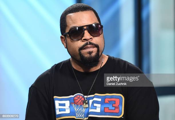 Ice Cube attends the Build Series to discuss his show 'Hip Hop Squares' at Build Studio on March 14 2017 in New York City