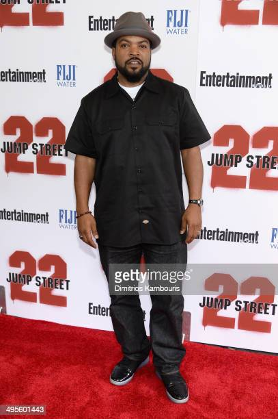 Ice Cube attends the New York screening of 22 Jump Street at AMC Lincoln Square Theater on June 4 2014 in New York City