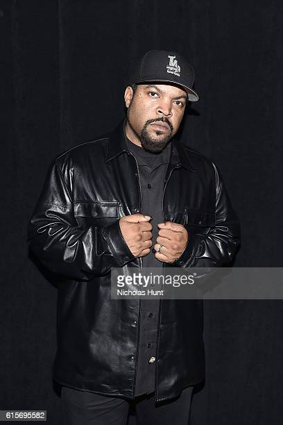 Ice Cube backstage during KENZO x HM Launch Event Directed By JeanPaul Goude' at Pier 36 on October 19 2016 in New York City