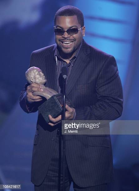 Ice Cube during 19th Annual Soul Train Music Awards Show at Paramount Studios in Hollywood California United States