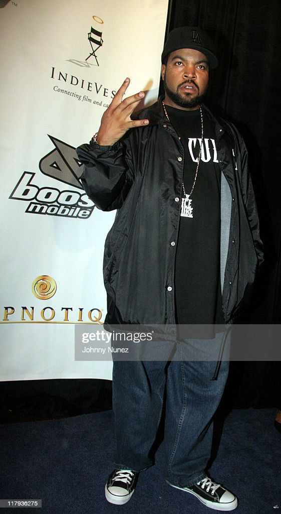 Ice Cube during Boost Mobile Presents ZO and Magic's 8 Ball Challenge Celebrity Pool Tournament at Jillian's of Houston in Houston, Texas, United States.
