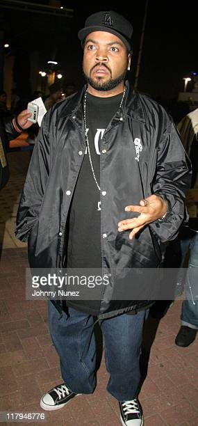Ice Cube during Boost Mobile Presents ZO and Magic's 8 Ball Challenge Celebrity Pool Tournament at Jillian's of Houston in Houston Texas United States