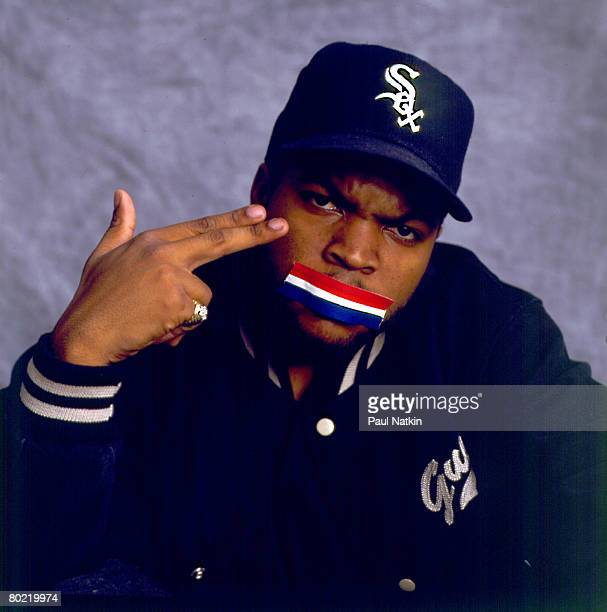 Ice Cube on 12/10/91 in Los Angeles Ca