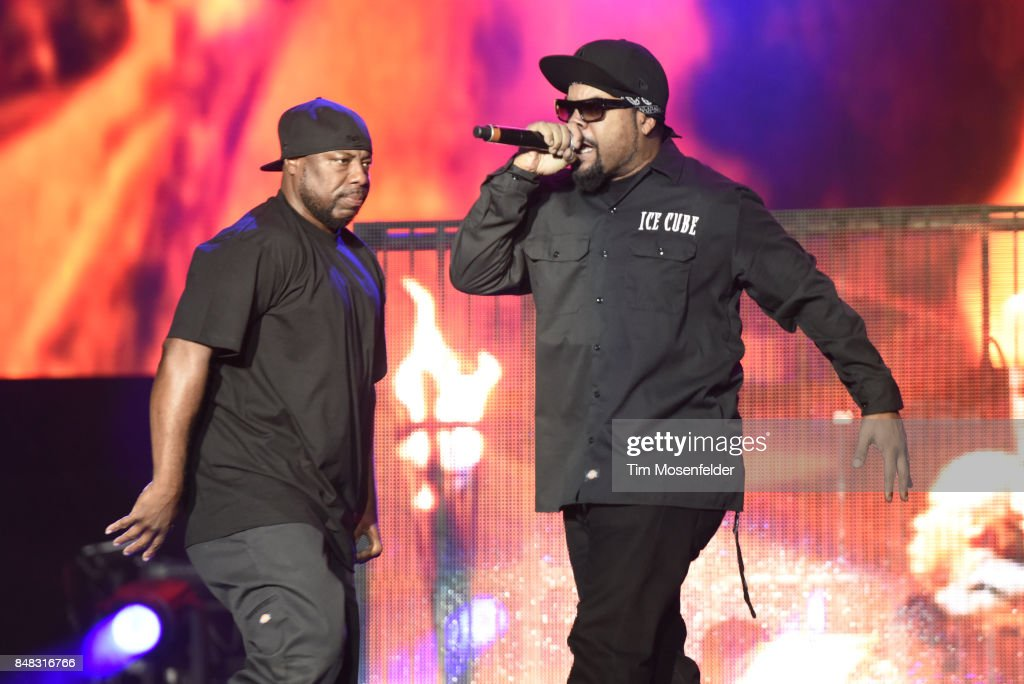 Ice Cube performs during KAABOO Del Mar at Del Mar Fairgrounds on September 16, 2017 in Del Mar, California.