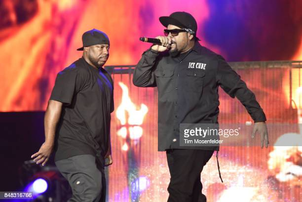 Ice Cube performs during KAABOO Del Mar at Del Mar Fairgrounds on September 16 2017 in Del Mar California