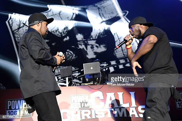ice cube performs during power 106s cali christmas at the forum on december 2 2016 in