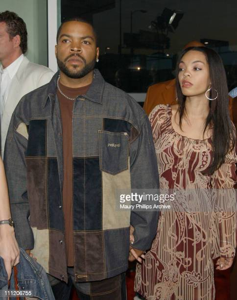 Ice Cube wife Kim during Barbershop Premiere Los Angeles at Archlight Cinerama Dome in Hollywood California United States