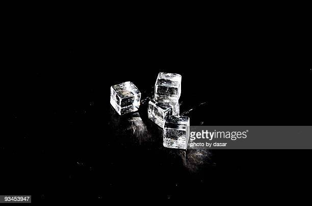 ice cubes - ice cube stock photos and pictures