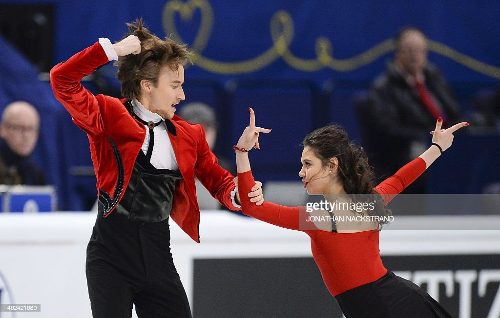 FSKATE-EURO-2015-ICE DANCE : News Photo
