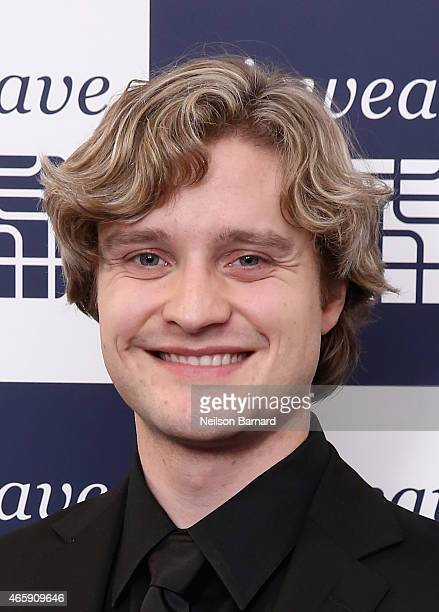 Ice dancer Charlie White attends the first US store opening in SoHo of airweave on March 11 2015 in New York City