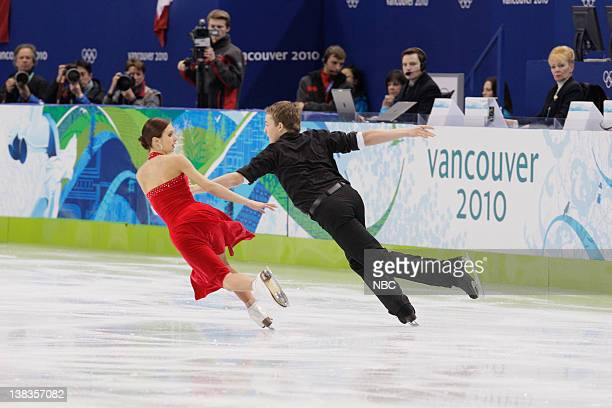 Ice Dancing - Free Skate -- Pictured: Estonia's Irina Shtork and Taavi Rand perform their free dance during the ice dance figure skating competition...