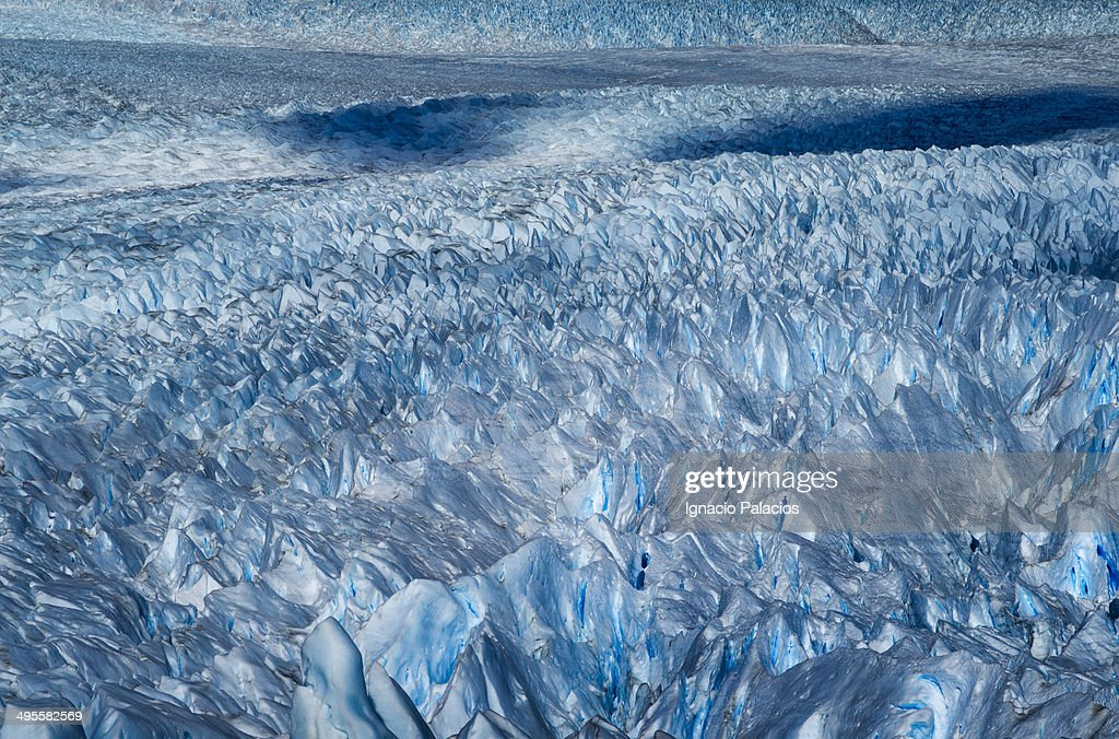 Ice detail, Perito Moreno Glacier : Stock Photo