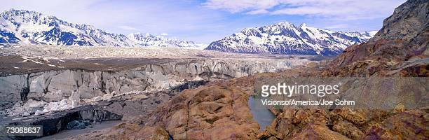 """""""Ice field and glaciers in Wrangell-St. Elias National Part, Alaska"""""""
