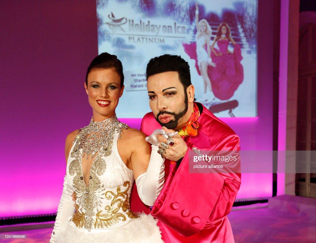 Ice Figure Skater Mackenzie Crawford And Fashion Designer Harald News Photo Getty Images