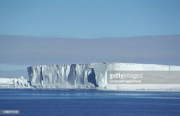Ice headlands of Brunt Ice Shelf