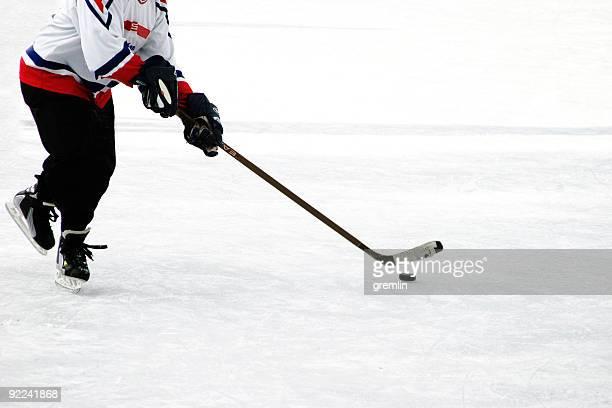 Ice hocker player