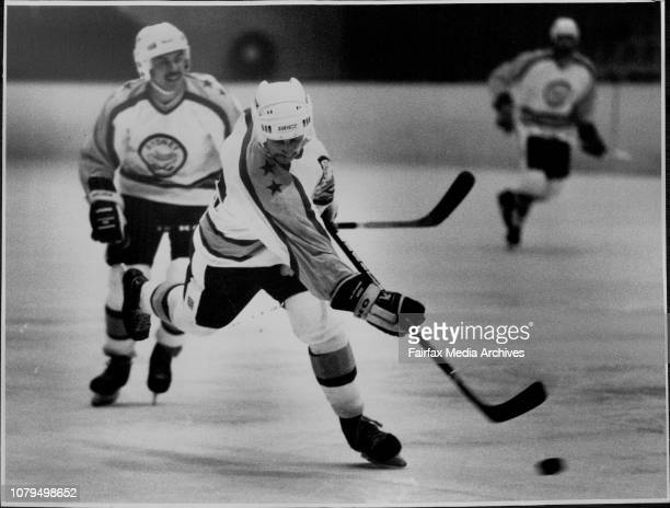 Sydney vs Adelaide at Macquarrie center Ice Rink Saturday August 13 August 14 1988