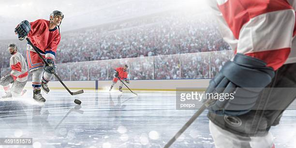 ice hockey action - ice hockey stick stock pictures, royalty-free photos & images