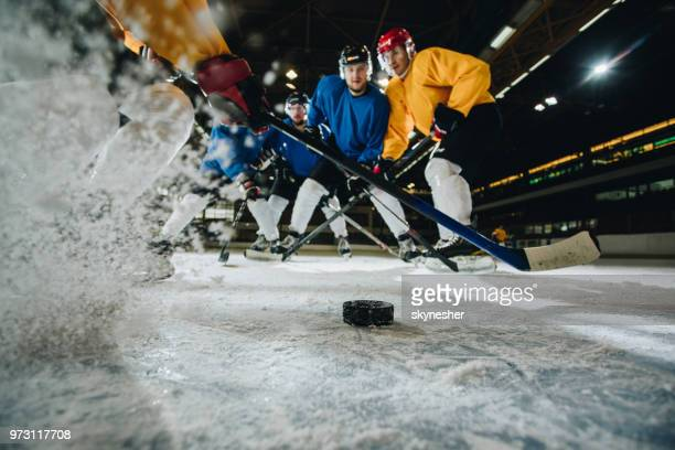 ice hockey action! - ice hockey player stock pictures, royalty-free photos & images