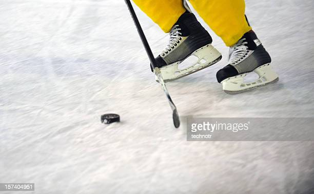 ice hockey equipment - puck stock pictures, royalty-free photos & images