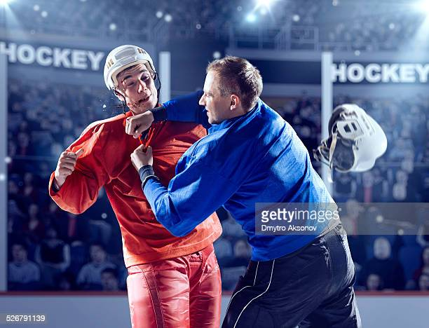 Ice hockey fight