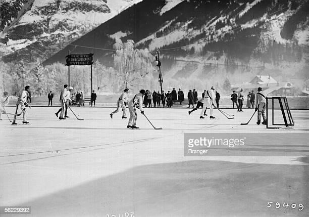 Ice hockey France 1911 BRA59409