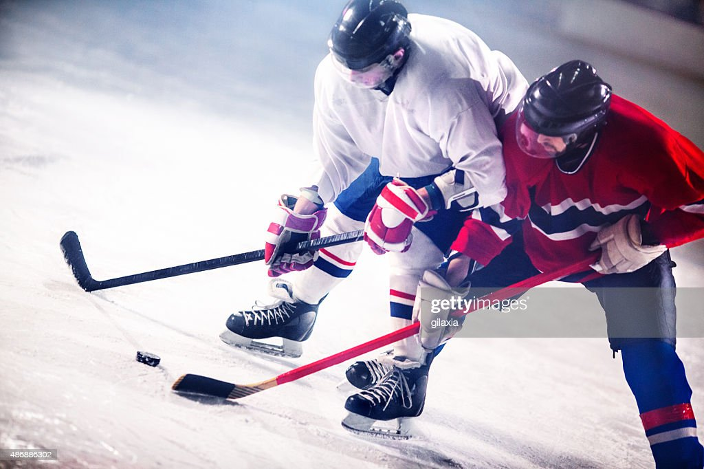Ice hockey game. : Stock Photo