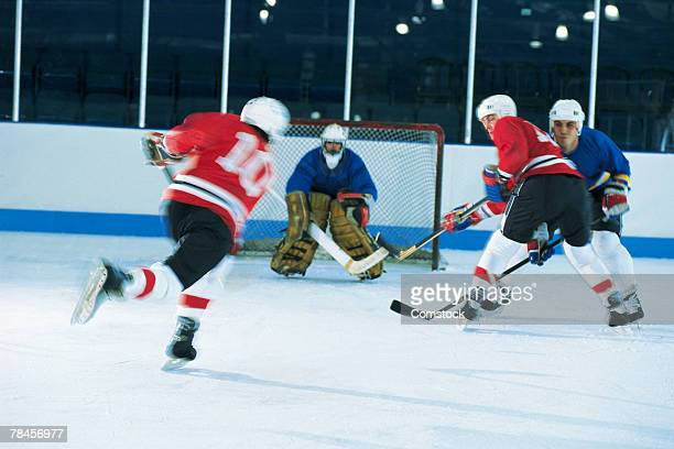 ice hockey game - hockey player stock pictures, royalty-free photos & images