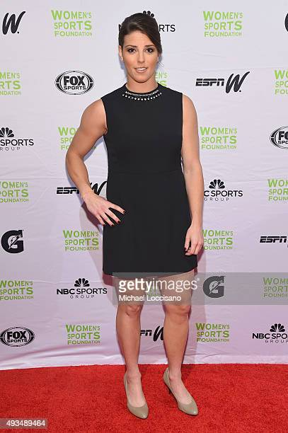 Ice Hockey player Hilary Knight attends the 36th Annual Salute to Women In Sports at Cipriani Wall Street on October 20 2015 in New York City