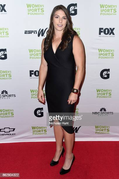 Ice Hockey player Hilary Knight attends the The Women's Sports Foundation's 38th Annual Salute To Women in Sports Awards Gala on October 18 2017 in...
