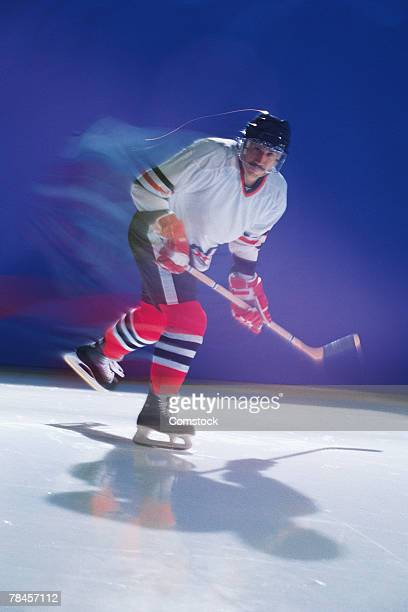 ice hockey player - ice hockey glove stock pictures, royalty-free photos & images